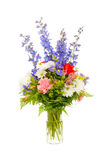 Colorful fresh flower arrangement centerpiece Royalty Free Stock Photography
