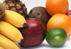 Colorful fresh fruits Royalty Free Stock Photography