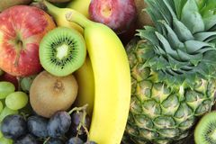 Colorful fresh fruits Stock Photography