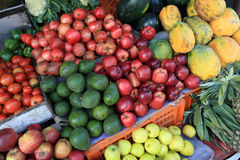 Colorful fresh fruits Royalty Free Stock Photo