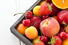 Colorful fresh fruits Stock Image