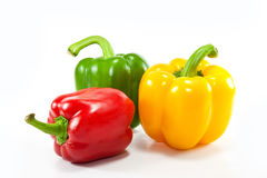 Colorful fresh mixed bell peppers Royalty Free Stock Photography