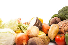 Colorful fresh mixed vegetables Stock Photos