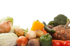 Colorful fresh mixed vegetables Stock Photo