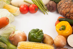 Colorful fresh mixed vegetables Royalty Free Stock Photo