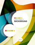Colorful fresh modern abstract background Royalty Free Stock Photography