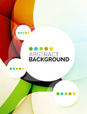 Colorful fresh modern abstract background Royalty Free Stock Image