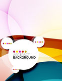 Colorful fresh modern abstract background Stock Image