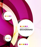 Colorful fresh modern abstract background Stock Photos