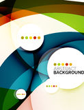 Colorful fresh modern abstract background Stock Photo