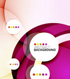 Colorful fresh modern abstract background Royalty Free Stock Images