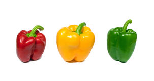 Colorful fresh peppers Royalty Free Stock Image