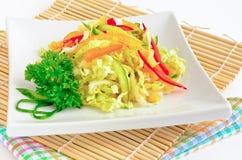 Colorful fresh salad mix Stock Image