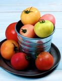 Colorful Fresh Tomatoes Royalty Free Stock Photos