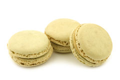 Colorful freshly baked macarons Royalty Free Stock Images