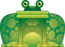 Colorful frog Stock Images