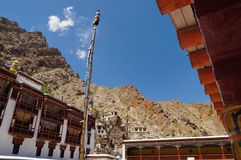 Colorful front compound of hemis monastery in Ladakh, India. Colorful front compound of hemis monastery in Ladakh,Northern India Stock Photo