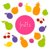 Colorful Fruit Background Royalty Free Stock Photo