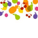 Colorful Fruit Background Stock Image
