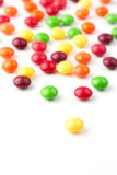 Colorful fruit candies Royalty Free Stock Photos
