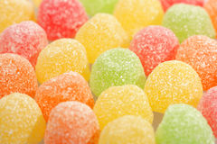 Colorful fruit candy. To serve as background stock photo
