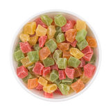 Colorful fruit candy of all sorts Stock Image