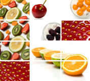 Colorful fruit composition Royalty Free Stock Image