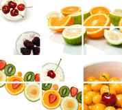 Colorful fruit composition Royalty Free Stock Photography