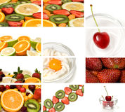Colorful fruit composition Royalty Free Stock Images