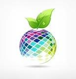 Colorful fruit ecology background Royalty Free Stock Photo