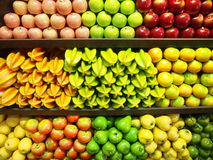 Colorful of fruit. Royalty Free Stock Photography