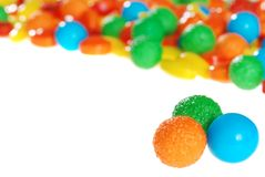 Colorful fruit hard candy Royalty Free Stock Photography