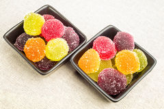 Colorful Fruit Jelly Royalty Free Stock Photos