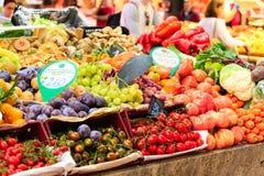 Fruit Market in Barcelona royalty free stock photos