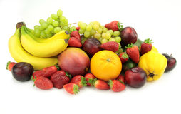 Colorful fruit mix Stock Image