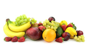 Colorful fruit mix Royalty Free Stock Image
