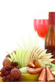 Colorful fruit salad Stock Image