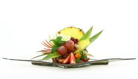 Colorful fruit salad Royalty Free Stock Image