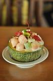 Colorful fruit salad Stock Photo