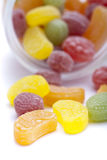 Colorful fruit sugar Stock Photography