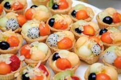 Colorful fruit tart Royalty Free Stock Image