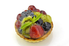 Colorful fruit tartlet Royalty Free Stock Photo