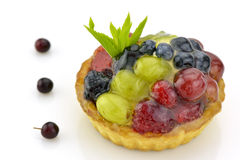 Colorful fruit tartlet Royalty Free Stock Image