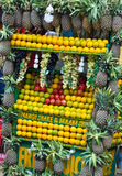 Colorful fruits. Fresh fruits at an Indian market Royalty Free Stock Images