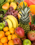 Colorful Fruits. This is a display of various fruits Royalty Free Stock Photos