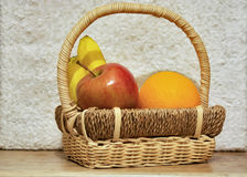 Colorful fruits in the basket p2 Royalty Free Stock Photo