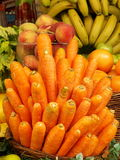 Colorful Fruits and Carrots Royalty Free Stock Photography