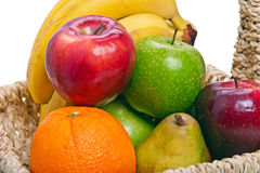 Colorful fruits close-up Stock Image
