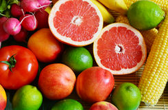 Colorful fruits Royalty Free Stock Photo
