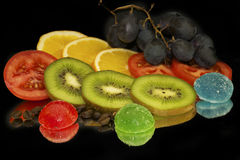 Colorful Fruits Royalty Free Stock Images